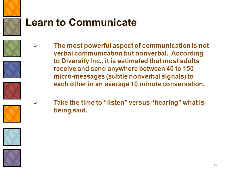 Learn to Communicate