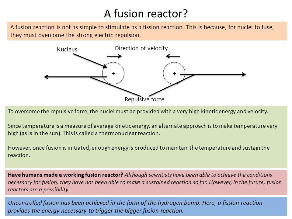 A fusion reactor