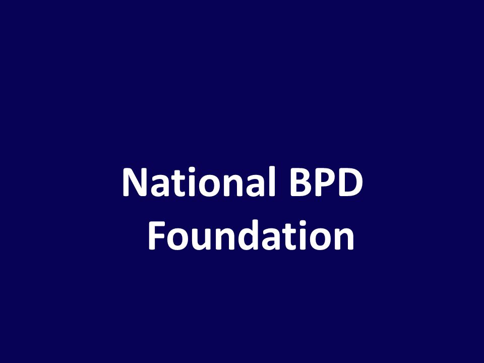 National BPD Foundation