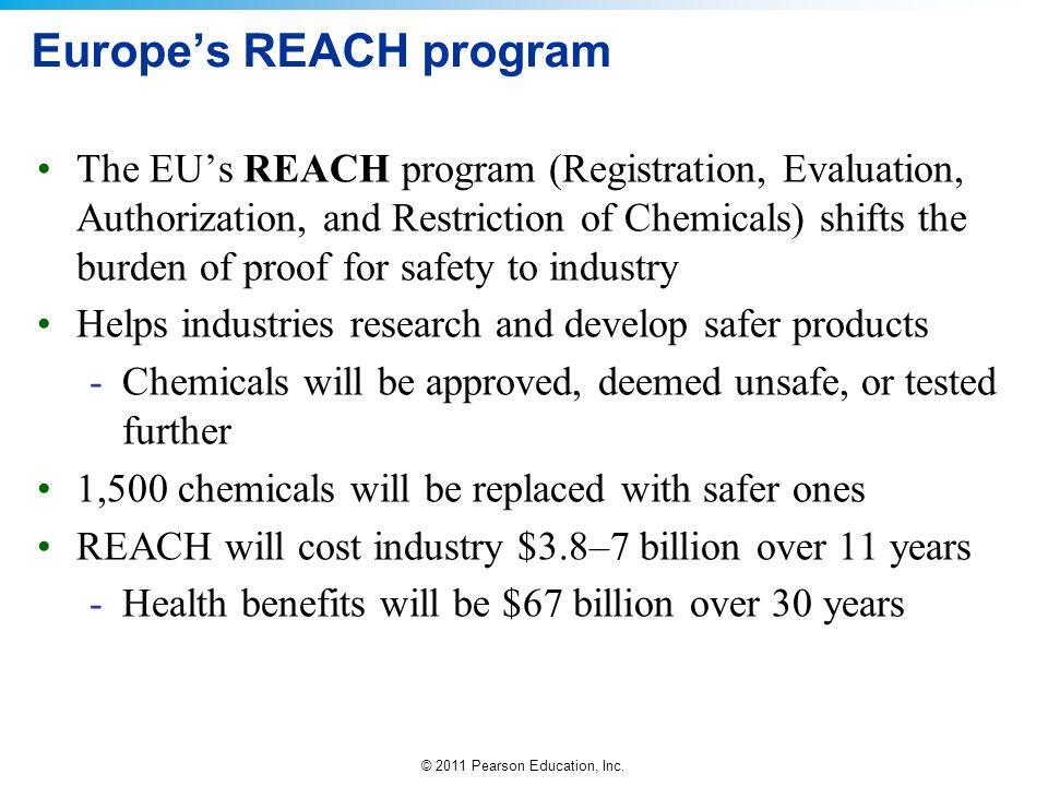 Europe's REACH program