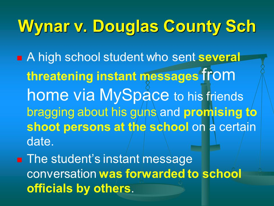 Wynar v. Douglas County Sch