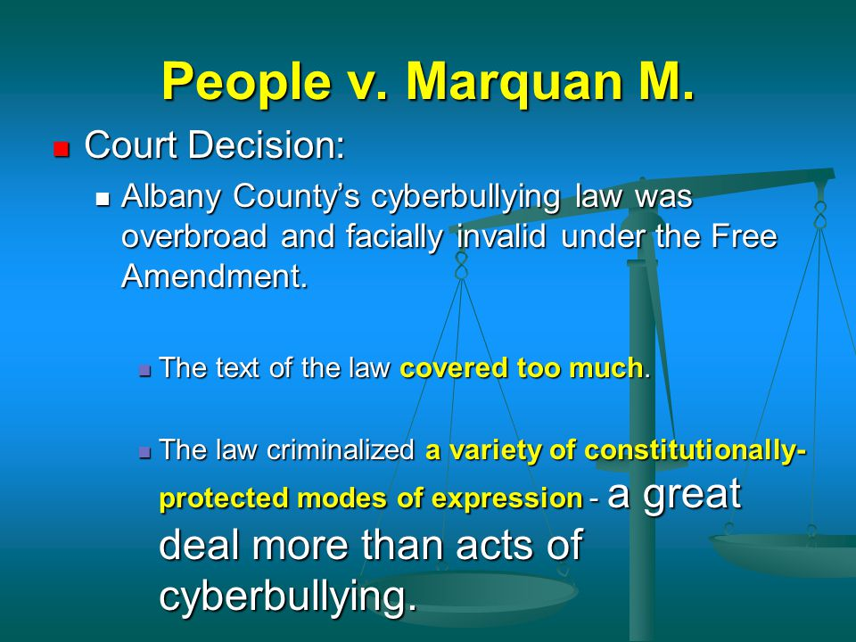 People v. Marquan M. Court Decision: