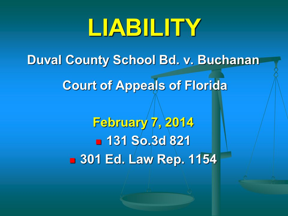 Duval County School Bd. v. Buchanan