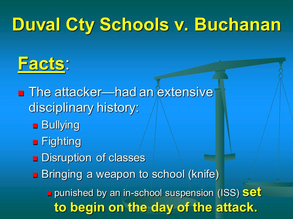 Duval Cty Schools v. Buchanan