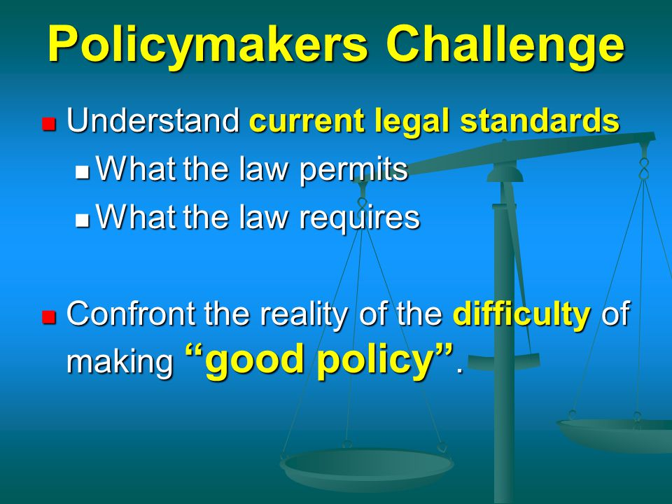 Policymakers Challenge