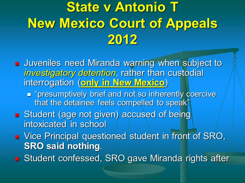 State v Antonio T New Mexico Court of Appeals 2012