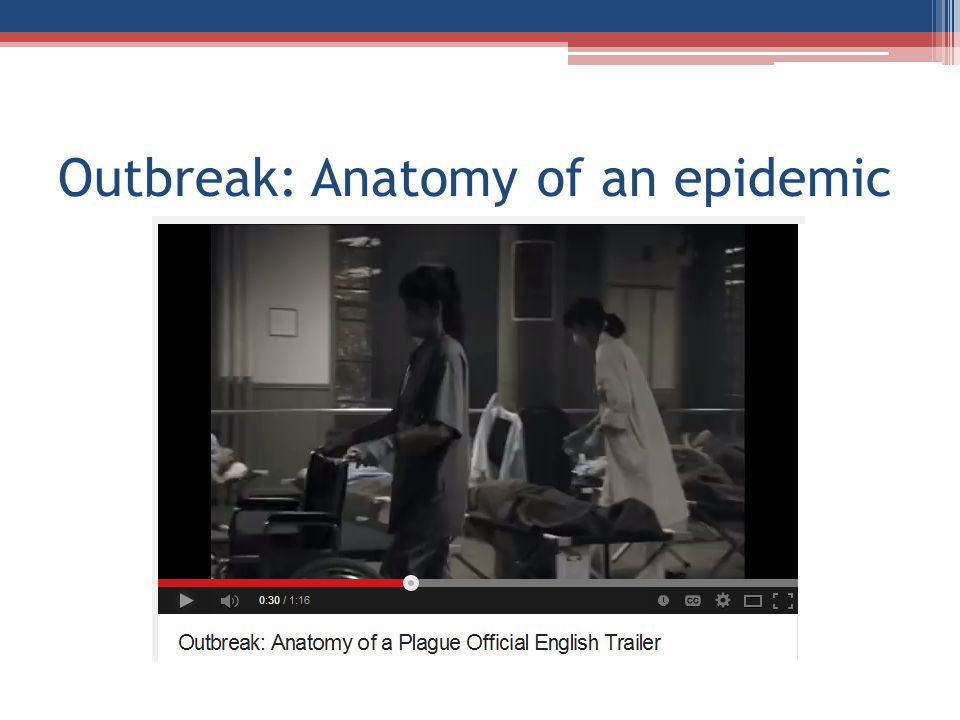 Outbreak: Anatomy of an epidemic
