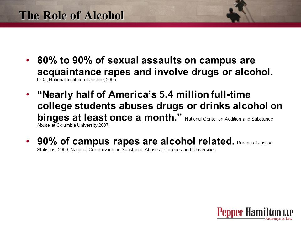 The Role of Alcohol