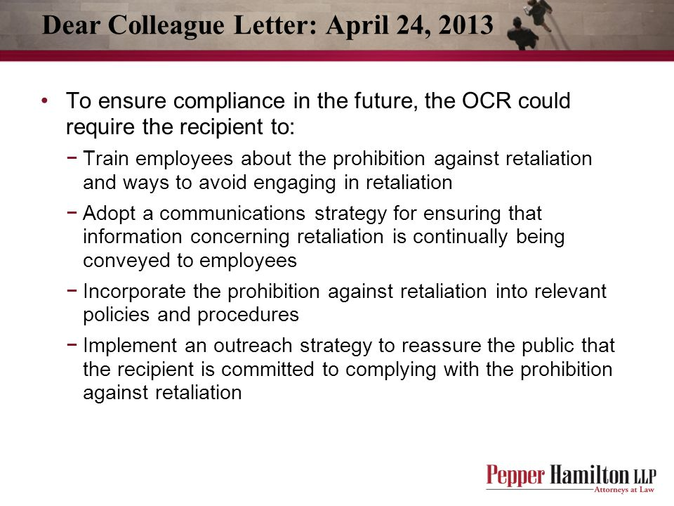 Dear Colleague Letter: April 24, 2013