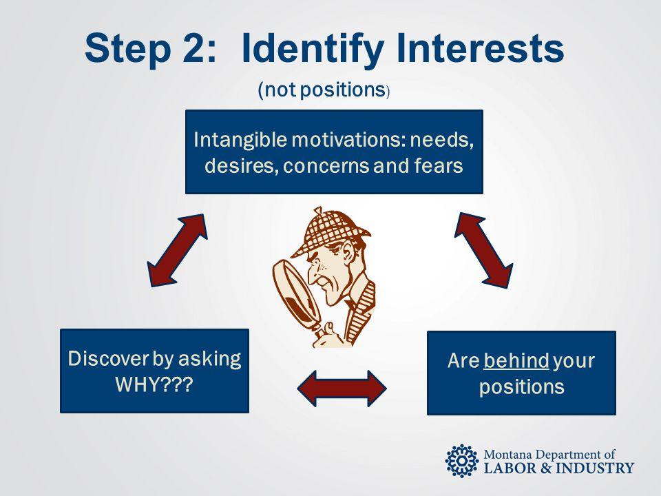 Step 2: Identify Interests