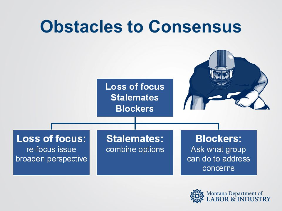 Obstacles to Consensus