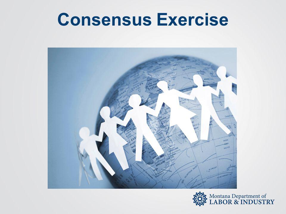 Consensus Exercise