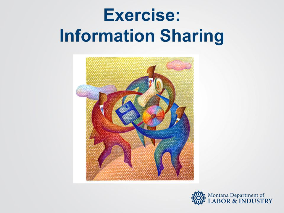 Exercise: Information Sharing