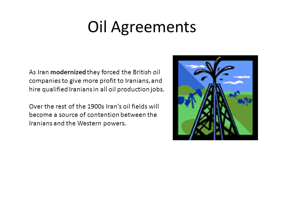 Oil Agreements