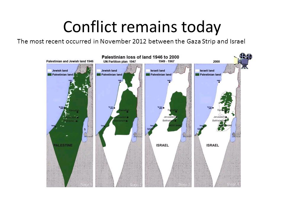 Conflict remains today