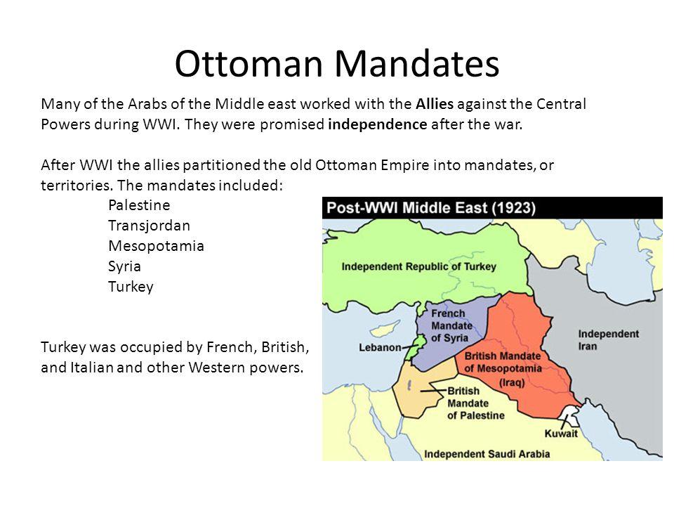 Ottoman Mandates