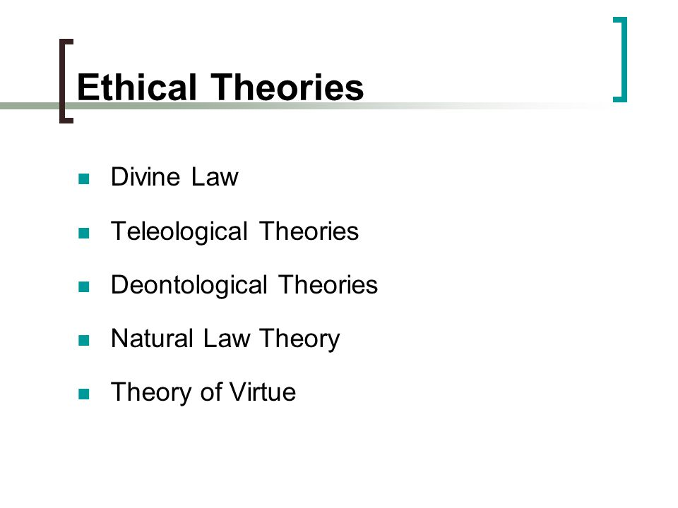 Difference Between Teleological and Deontological Ethics&nbspEssay