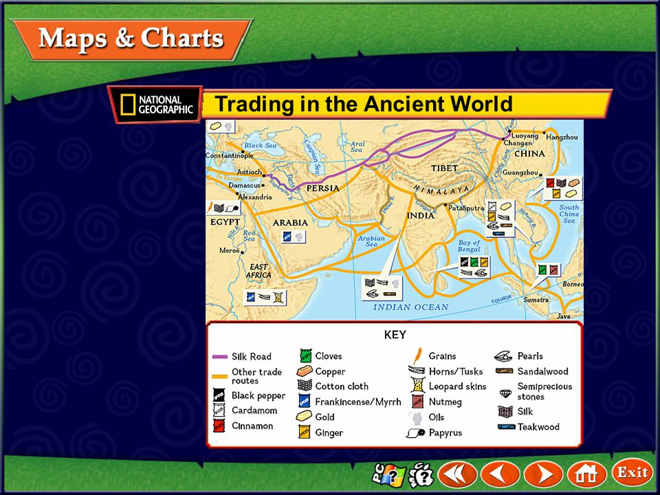 Trading in the Ancient World