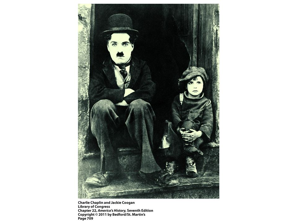 1. Charlie Chaplin's silent films are a notable example of American popular culture before the Great Depression. Why was film such a significant mode of entertainment in this period