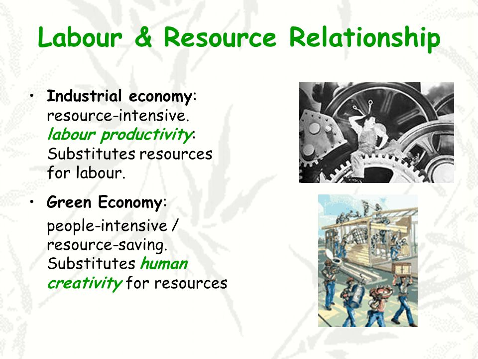 Labour & Resource Relationship