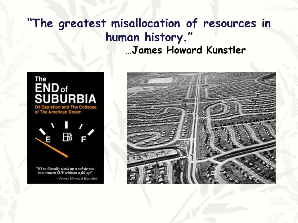 The greatest misallocation of resources in human history