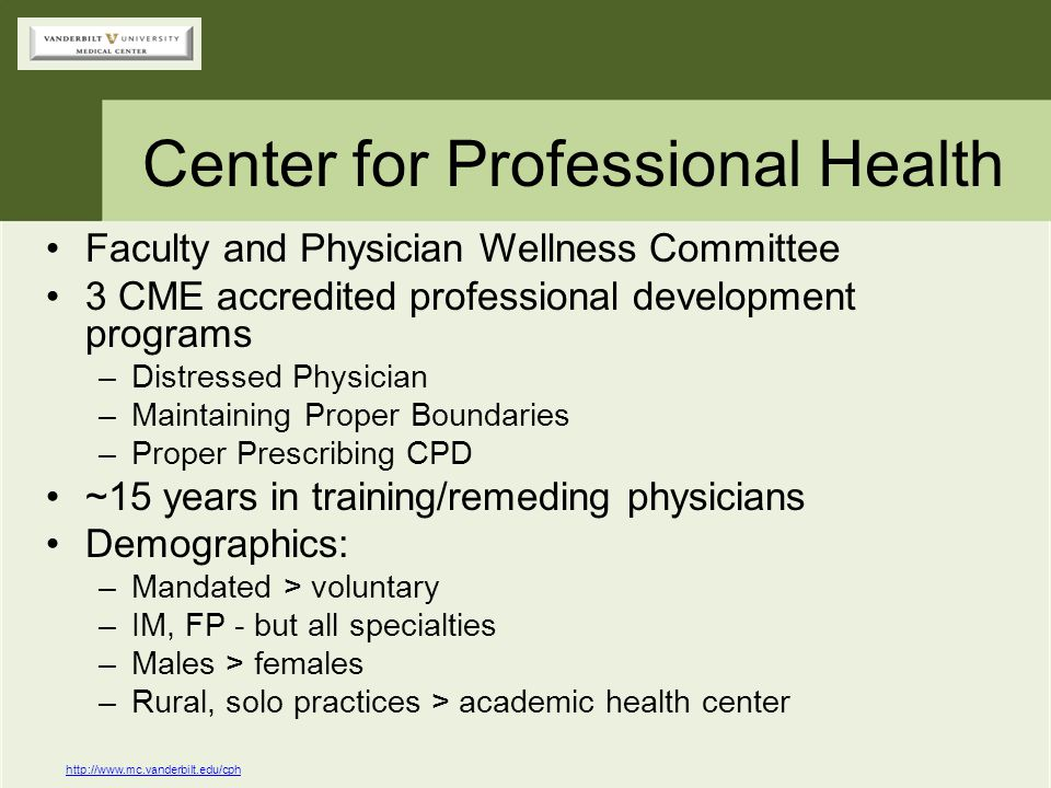 Center for Professional Health