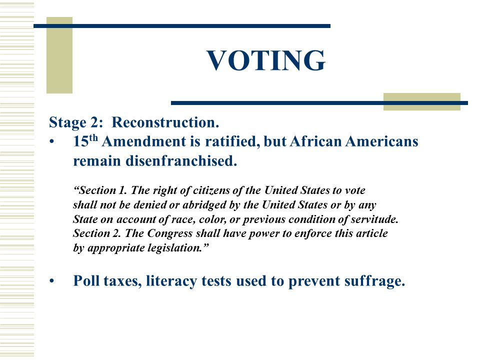 VOTING Stage 2: Reconstruction.