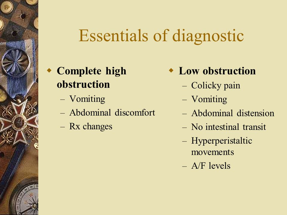 Essentials of diagnostic