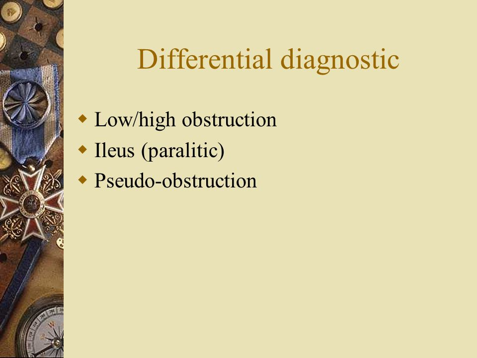 Differential diagnostic