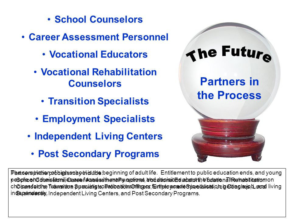 The Future Partners in the Process School Counselors