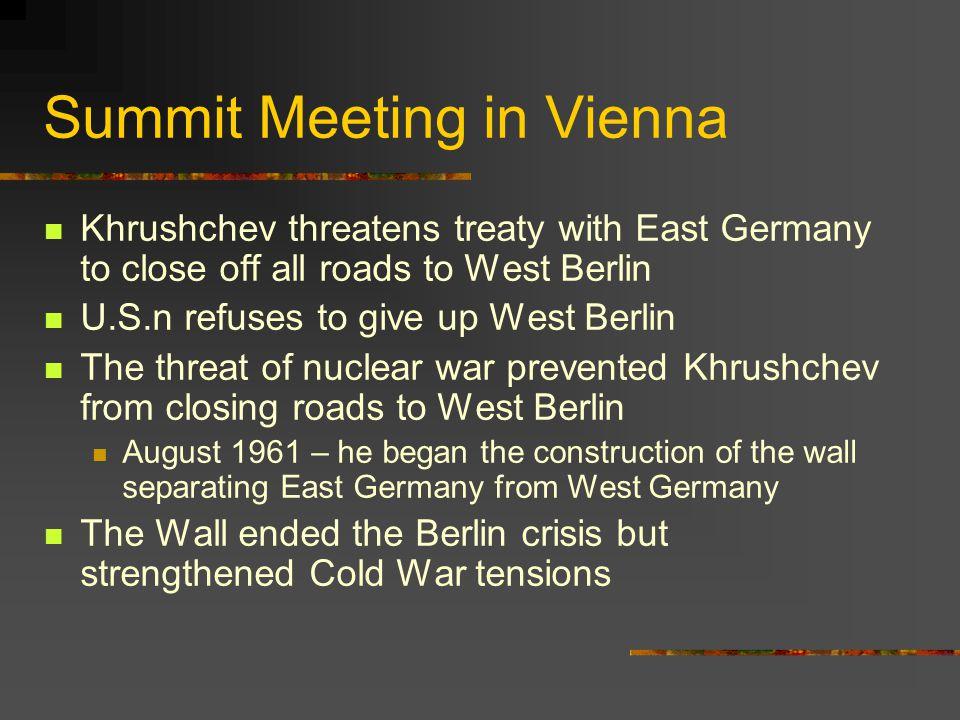 Summit Meeting in Vienna
