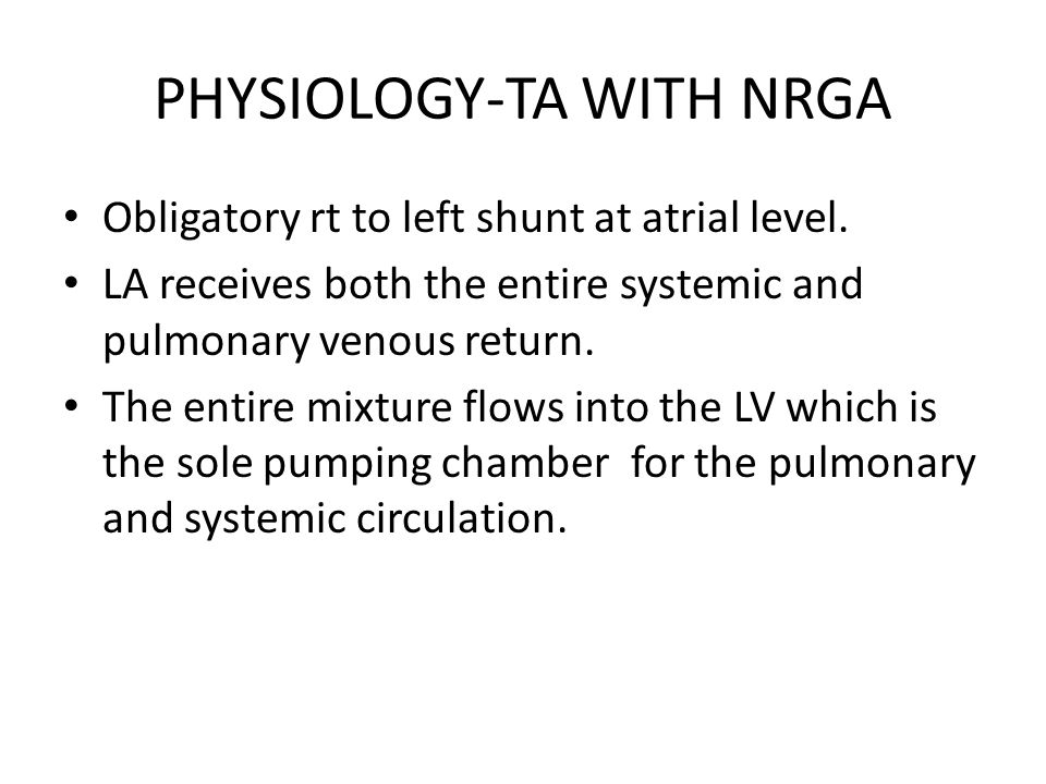 PHYSIOLOGY-TA WITH NRGA