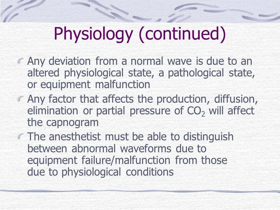 Physiology (continued)
