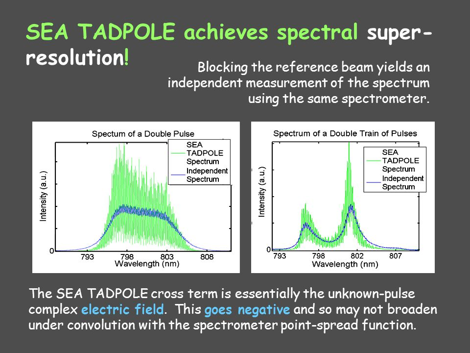 SEA TADPOLE achieves spectral super-resolution!