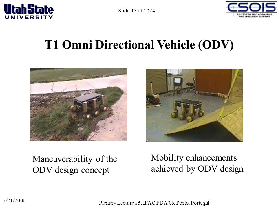 T1 Omni Directional Vehicle (ODV)