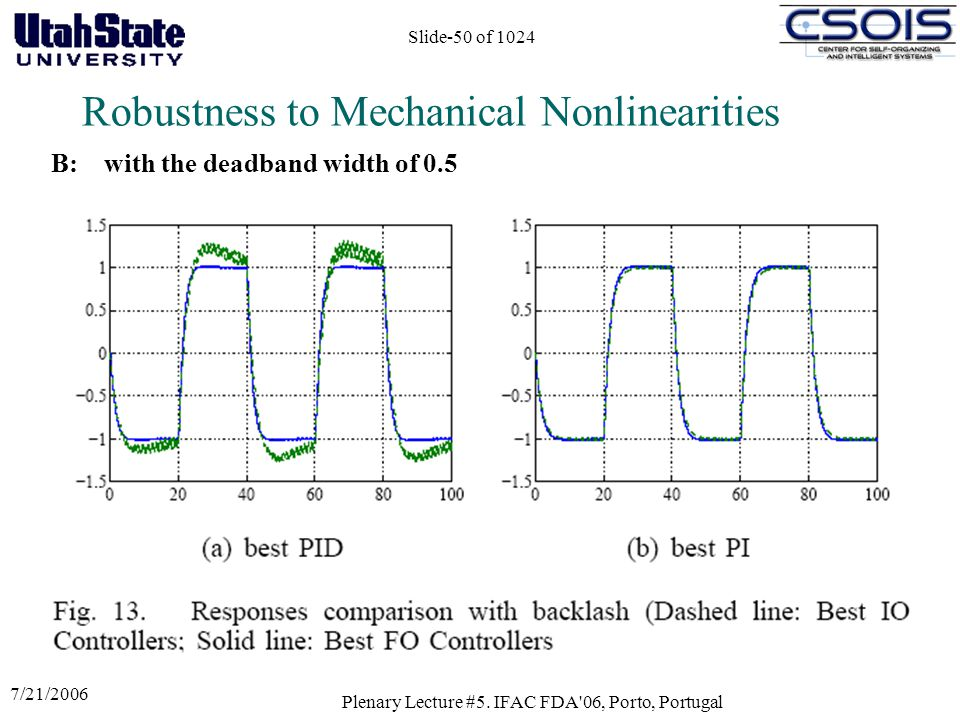 Robustness to Mechanical Nonlinearities