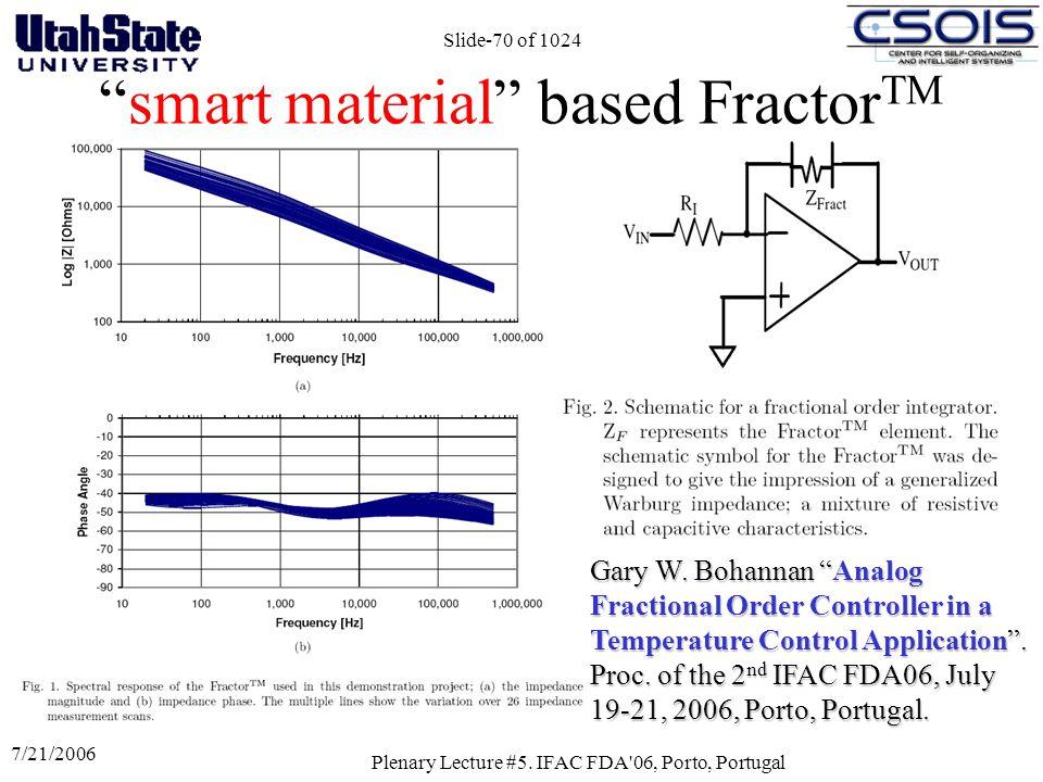 smart material based FractorTM