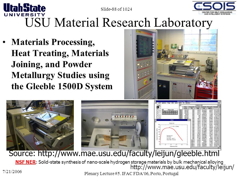 USU Material Research Laboratory