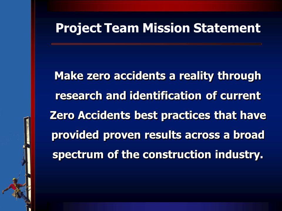 Project Team Mission Statement