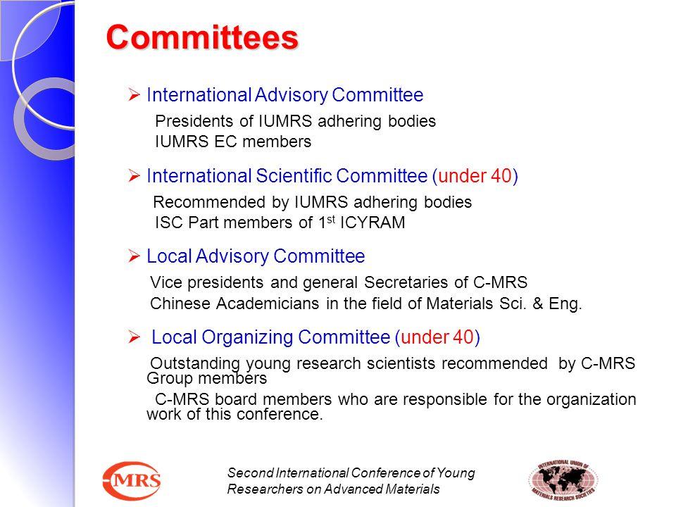 Committees International Advisory Committee