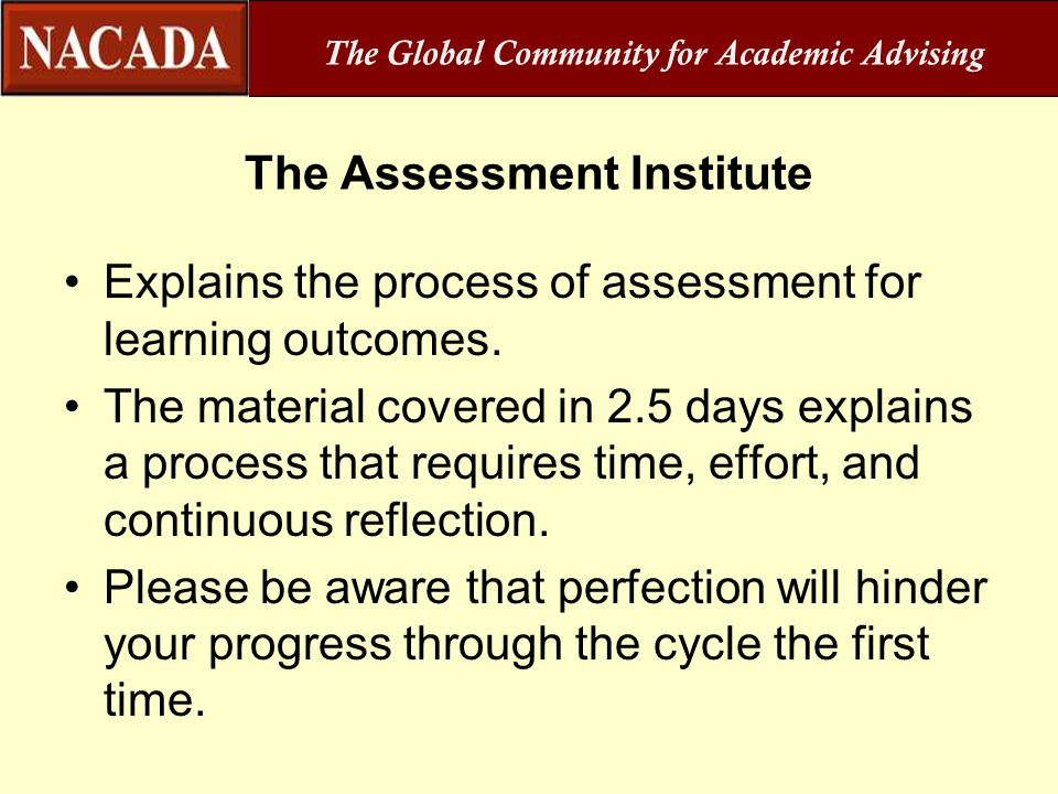 The Assessment Institute