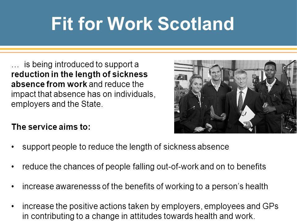 Fit for Work Scotland