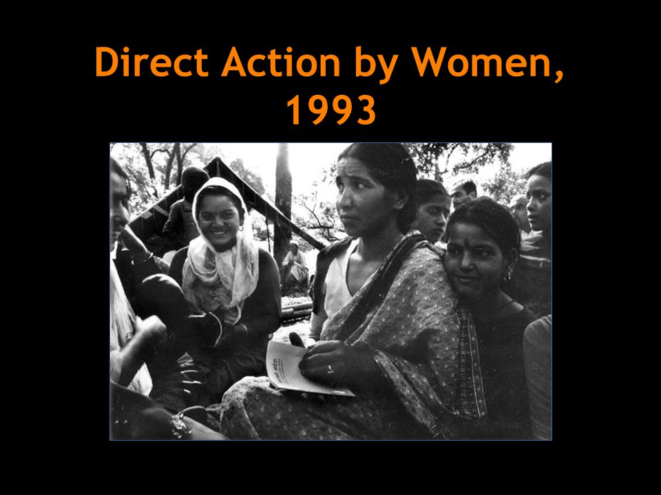 Direct Action by Women, 1993