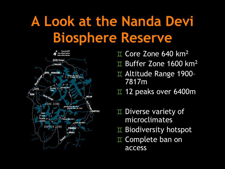 A Look at the Nanda Devi Biosphere Reserve