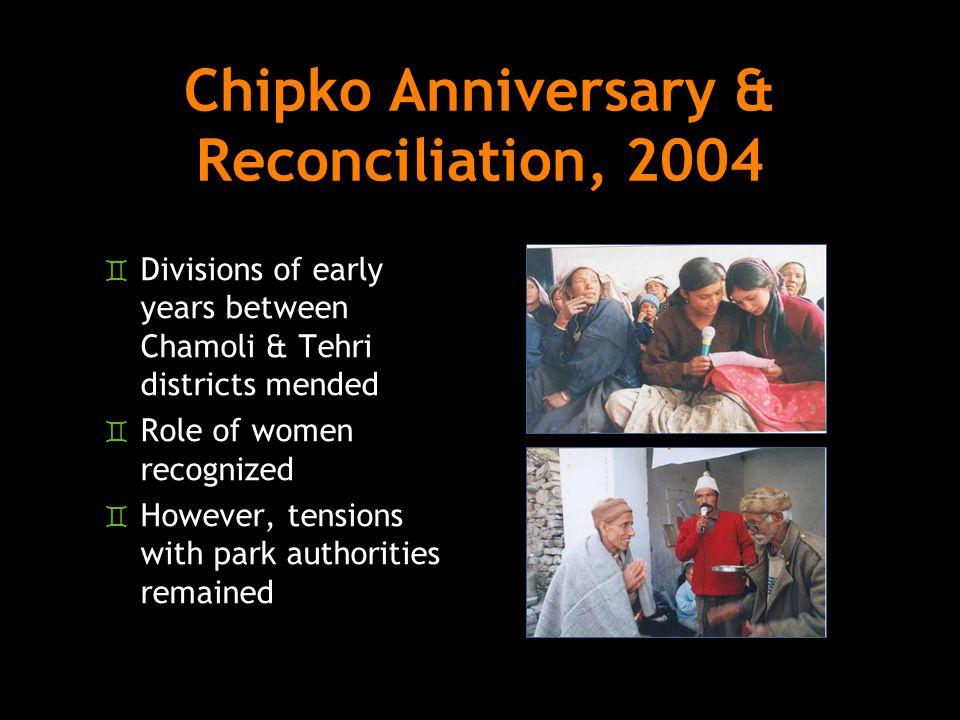 Chipko Anniversary & Reconciliation, 2004