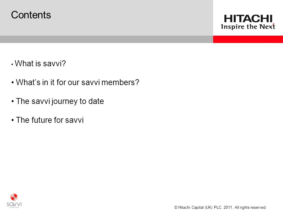 What is savvi 2. savvi is exclusive privilege club for all HCCF customers which does not cost a penny to join.