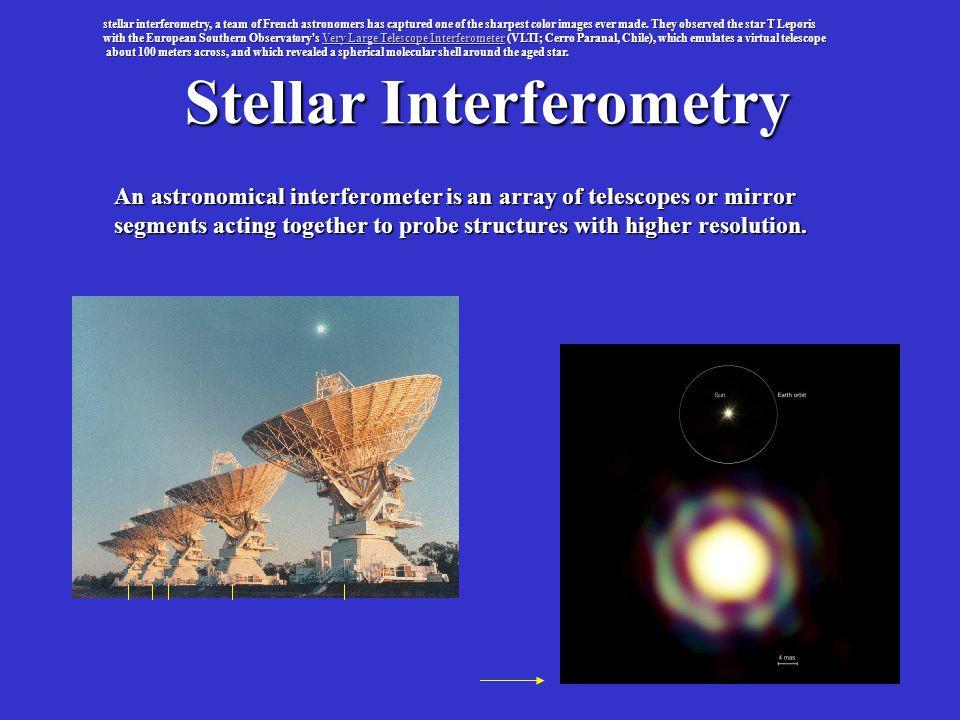 Stellar Interferometry
