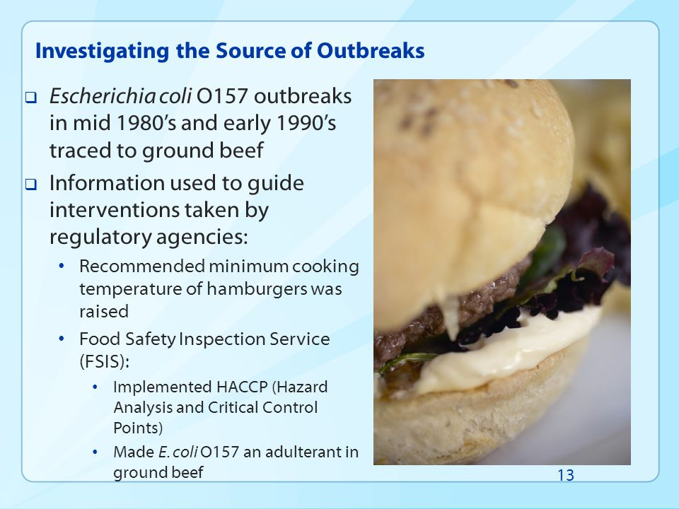 Investigating the Source of Outbreaks