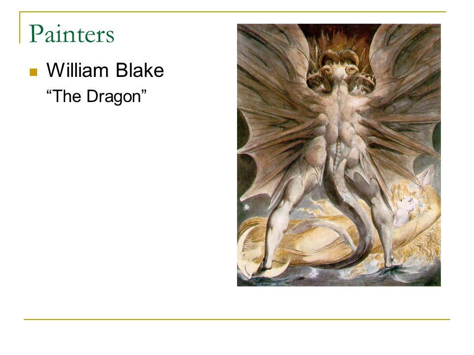 Painters William Blake The Dragon