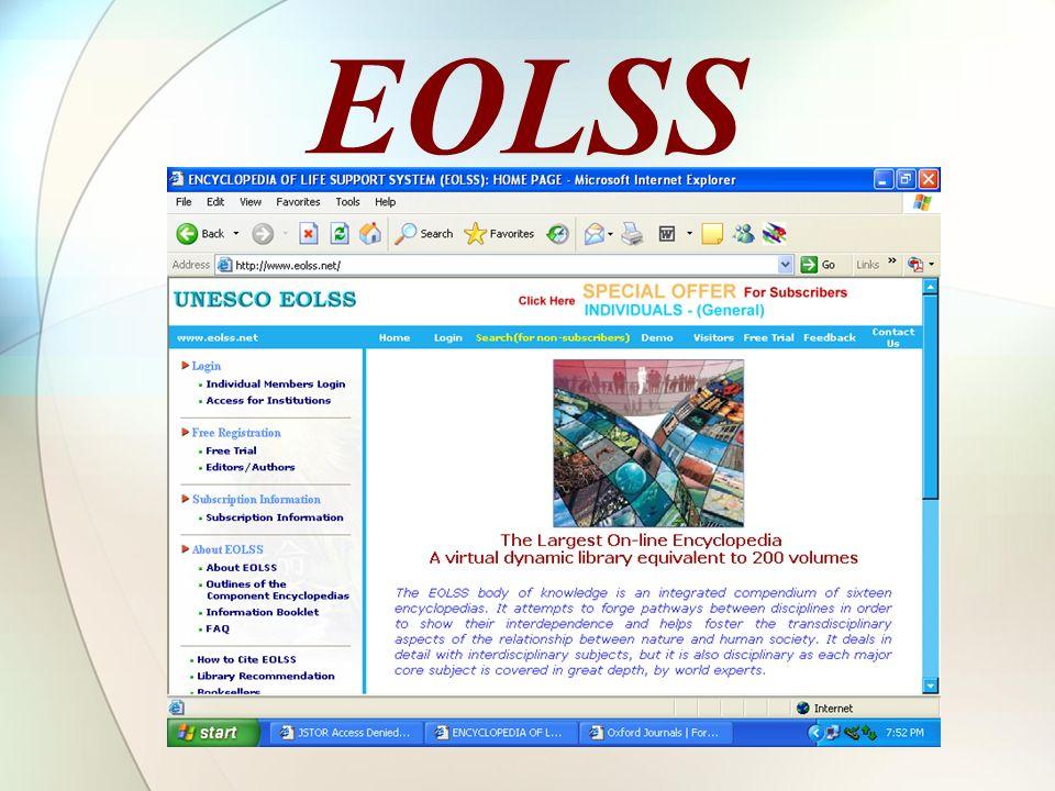 EOLSS